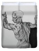 A Study Of Michelangelo Work Duvet Cover