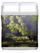 A Sunny Meadow Duvet Cover