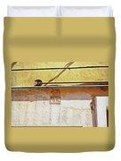 A Sunny Wall Duvet Cover