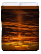 A Sunset Duvet Cover