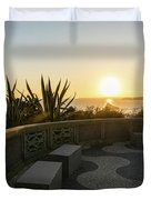 A Sunset Relaxation Zone - Duvet Cover