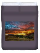 A Sunset To Remember Duvet Cover