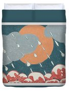 A Sunshine  Rain - Shower Duvet Cover