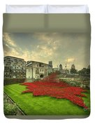 A Sweep Of Poppies  Duvet Cover