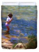 A Sweet Cool Dip Duvet Cover