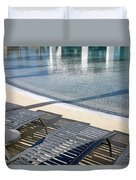 A Swimming Pool Duvet Cover