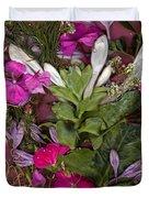 A Symphony Of Flowers Duvet Cover