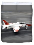 A T-45c Goshawk Training Aircraft Makes Duvet Cover