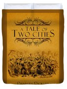 A Tale Of Two Cities Book Cover Movie Poster Art 1 Duvet Cover