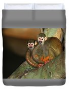 A Tale Of Two Tails Duvet Cover