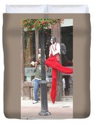 A Tall Composition Duvet Cover