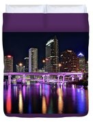 A Tampa Night Duvet Cover