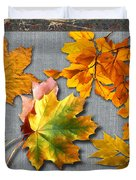 A Taste Of Fall Duvet Cover