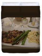 A Taste Of Italy Duvet Cover