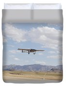 A Tiger Shark Unmanned Aerial Vehicle Duvet Cover