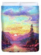 A Time For Peace Duvet Cover
