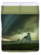 A Time To Pray Duvet Cover