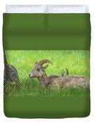 A Time To Rest Duvet Cover