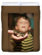 A Toad For You Duvet Cover