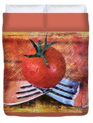 A Tomato Sketch Duvet Cover