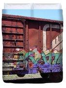 A Train Car Named Desire Duvet Cover