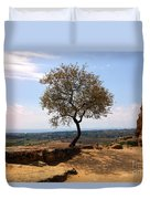 A Tree And A Rock Duvet Cover