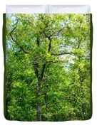A Tree In The Woods At The Hacienda  Duvet Cover