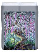 A Tree Of Many Colors Duvet Cover