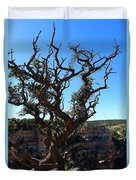 A Tree On The Edge Duvet Cover