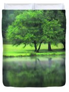A Tree Reflected Duvet Cover