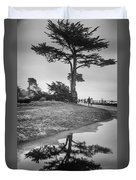 A Tree Stands Tall Duvet Cover