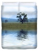 A Trees  Reflection Duvet Cover