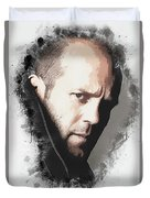 A Tribute To Jason Statham Duvet Cover