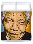 A True Leader With Dignity Personified Duvet Cover