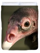 A Turkey Vulture At The Henry Doorly Duvet Cover