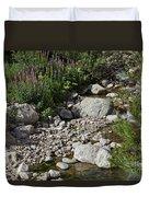 A Vail Stream Duvet Cover