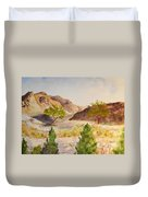 A View At Red Rock Duvet Cover