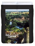 A View From Blarney Castle In Ireland Duvet Cover