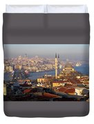 A View From Istanbul Duvet Cover