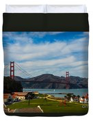 A View From The Presideo Duvet Cover