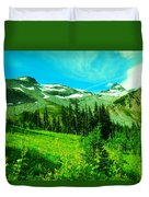 A View Into Paradise Duvet Cover