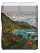 A View Of Carambola Duvet Cover