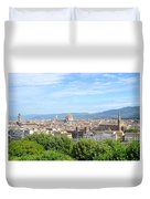 A View Of Florence Duvet Cover
