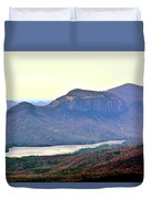 A View Of Table Rock South Carolina Duvet Cover