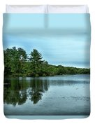 A View Of The Lake Duvet Cover