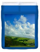 A View Over Exmoor Duvet Cover