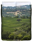 A Vineyard In The Anderson Valley Duvet Cover