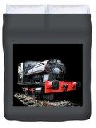 A Vintage Steam Train Duvet Cover