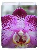 A Violet Orchid Duvet Cover