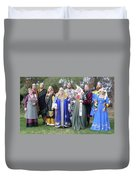 A Visit With Royalty Duvet Cover
